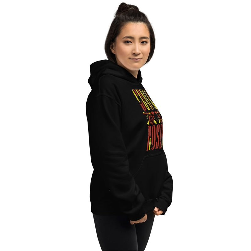Guns And Roses Womens Hoodie
