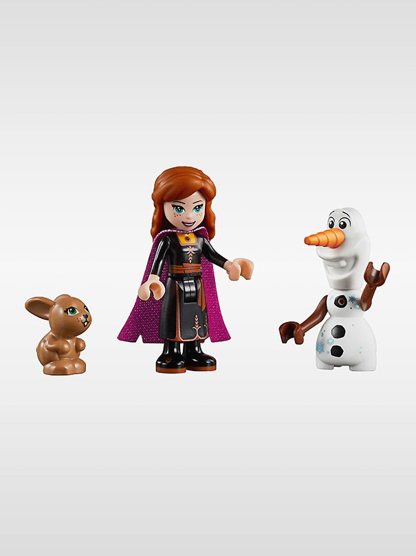 Frozen 2 : Anna Canoe Expedition Lego Set