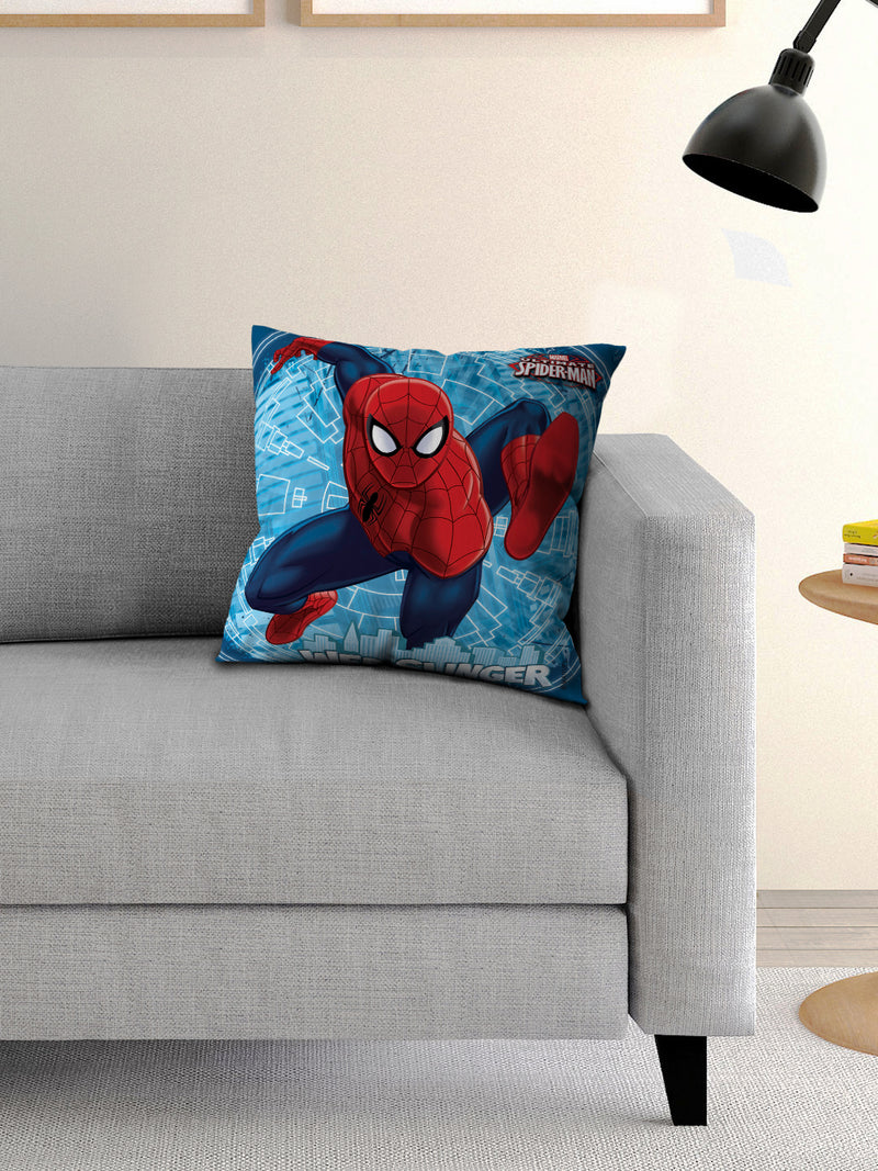Marvel Spider Man Filled Cusion with Cover 16x16 inches - e64
