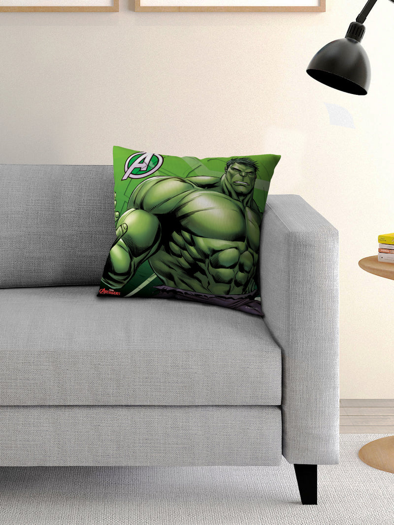 Marvel Avengers Hulk Cusion with Cover 16x16 inches - e55