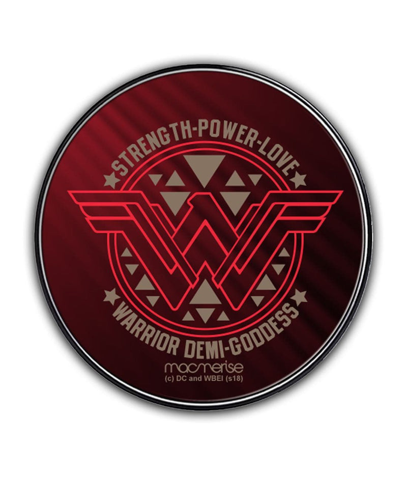 Wonder Woman Stamp - Qi Compatible Pro Wireless Charger