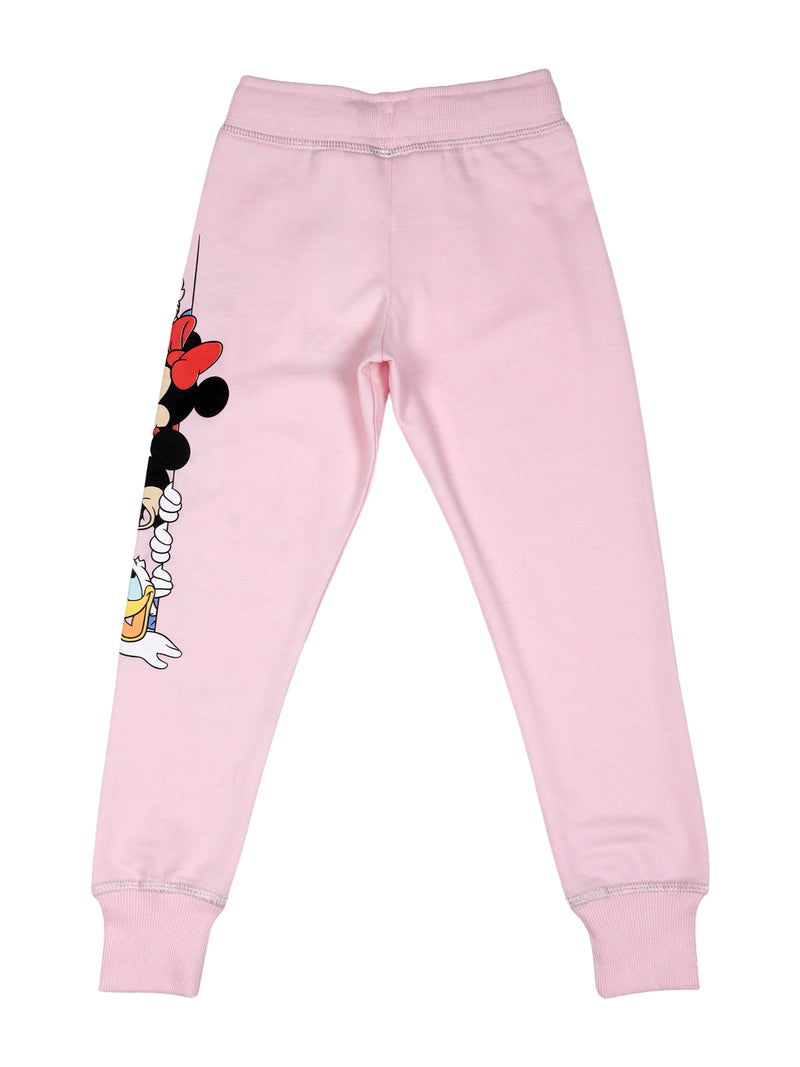 Mickey Mouse Pink Regular fit Jogger for Girls