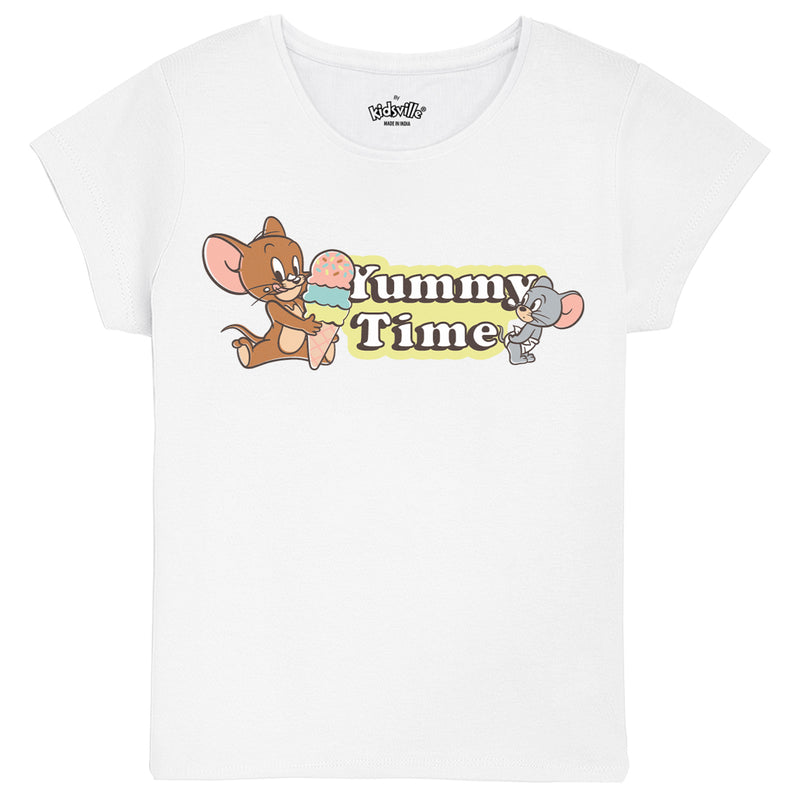 Tom & Jerry pack of 2 tshirts for Girls - KGTNJ13