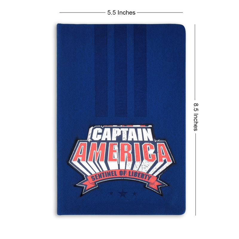 Captain America (Lasercut) Notebook