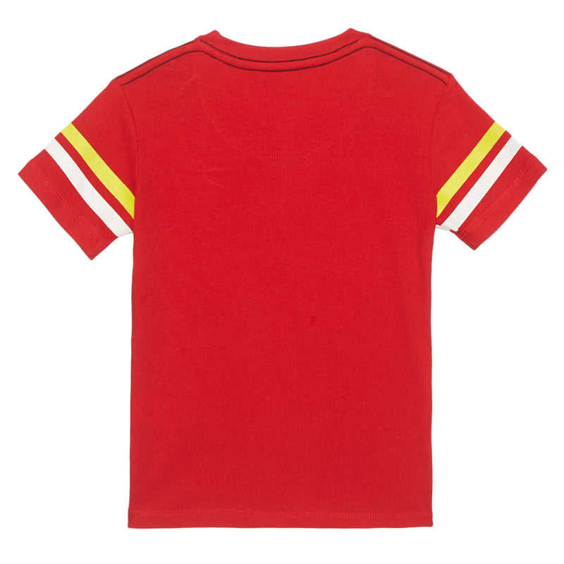 Flash Red Boys Tshirt - STY-19-20-000250