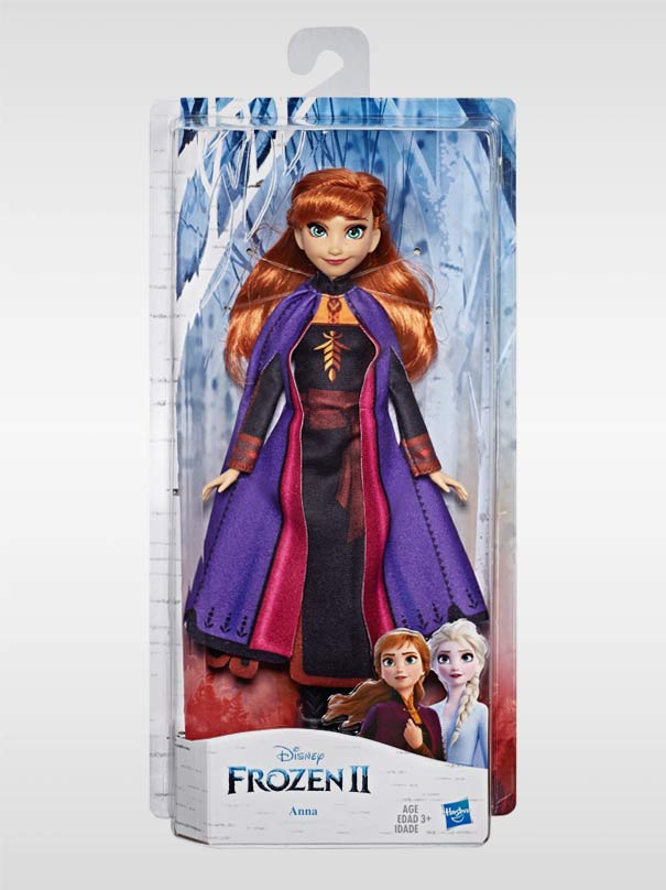 Frozen 2 Anna Fashion Doll by Hasbro