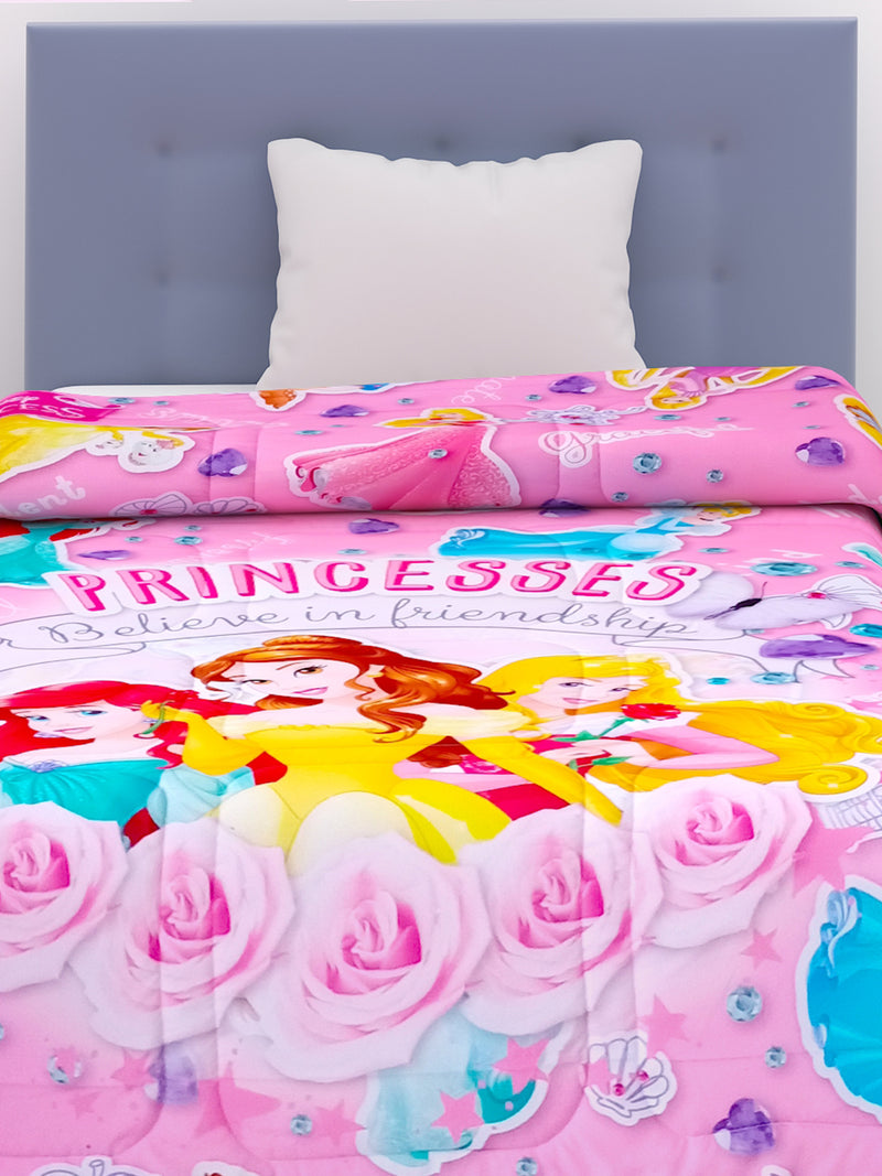 Disney Princess Kids Comforter 300 GSM 135x220 cm - 180