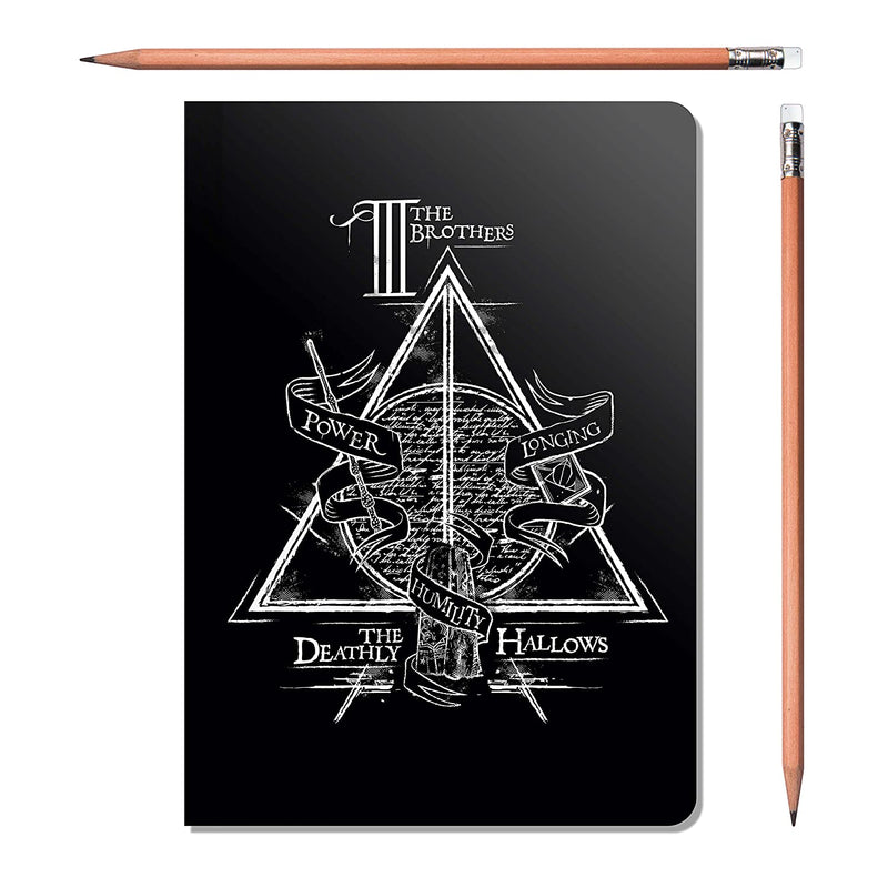 Harry Potter Binded Notebook - Combo pack of 3