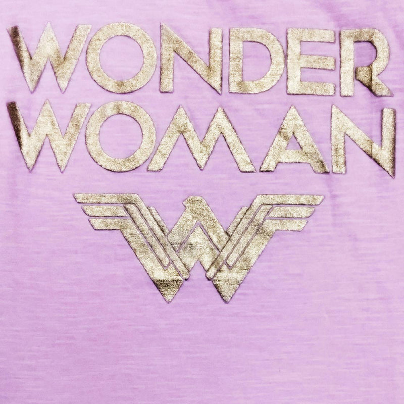 Wonder Woman Pink Girls Tshirt - 1859