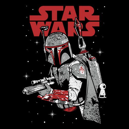 Bounty Hunter - Star Wars Official T-shirt