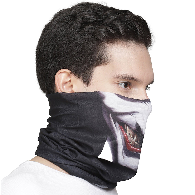 Batman Printed Multicolor Unisex Neck gaiter