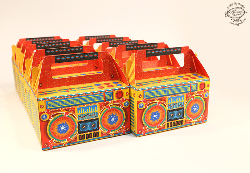 Set of 10 Boombox Gift Boxes