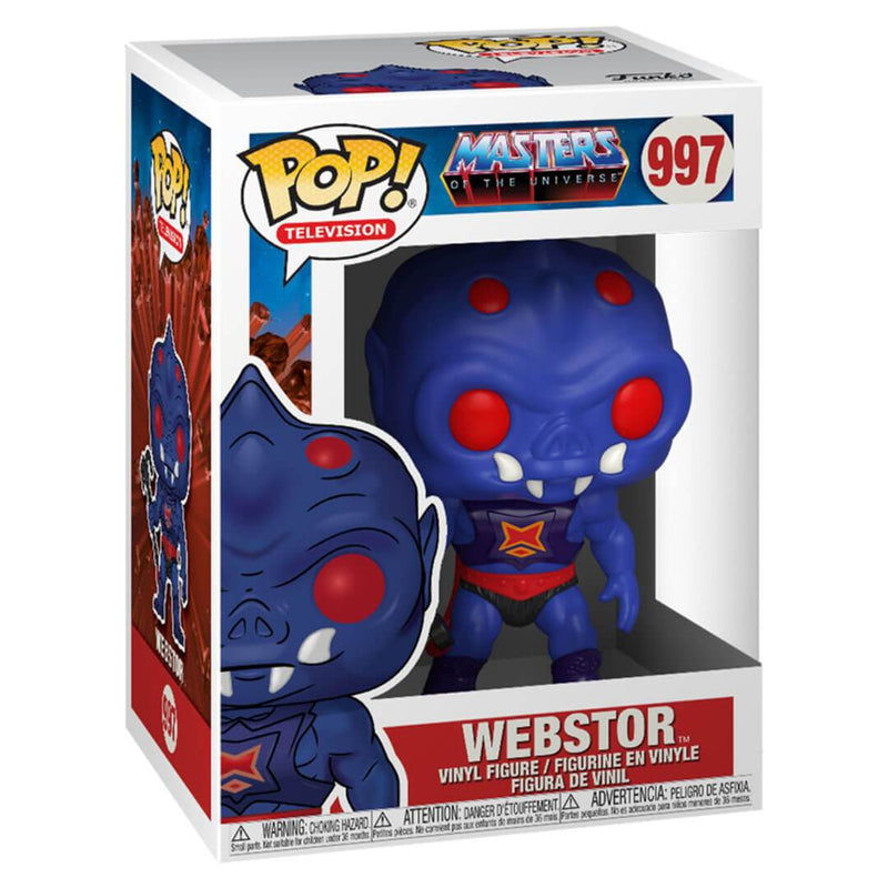 Masters of the Universe Webstor Pop! Vinyl Figure by Funko