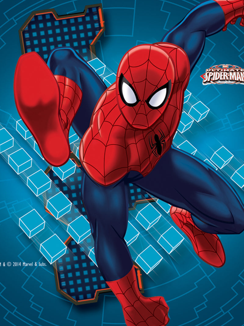 Marvel Spiderman Blue Cusion with Cover 16x16 inches - e11