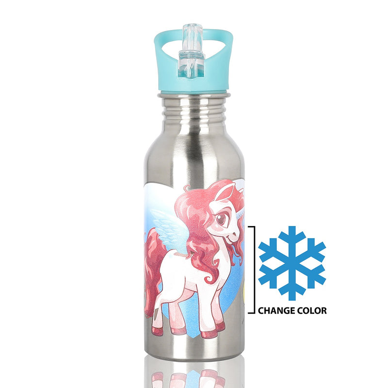 Colour Changing Magic Bottle Unicorn Rainbow Dash