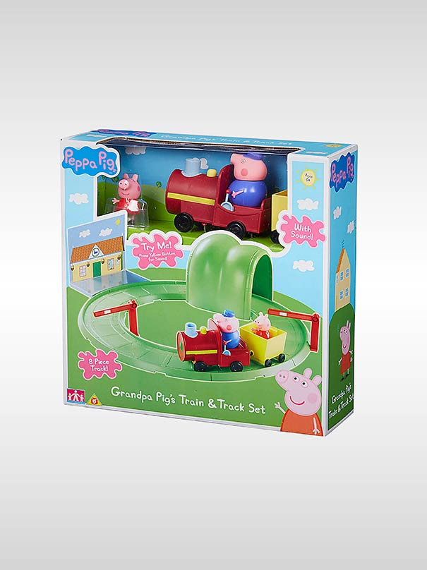 Peppa Pig - Grandpa Pig Train & Track Playset