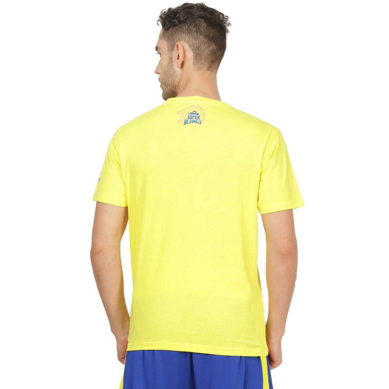 CSK Whistle Podu Tee  (Yellow) - 2020