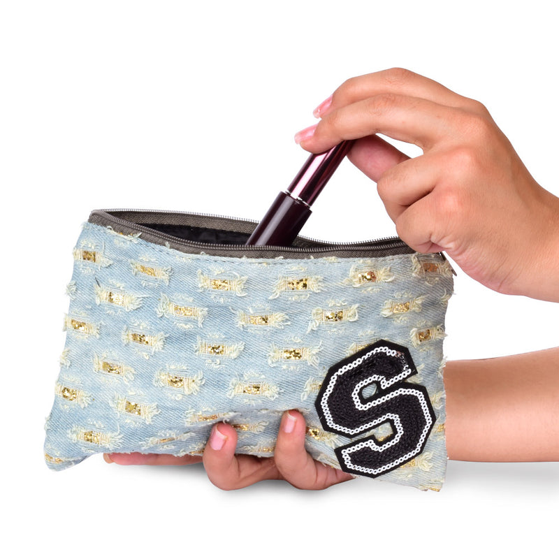 Initial S Pouch