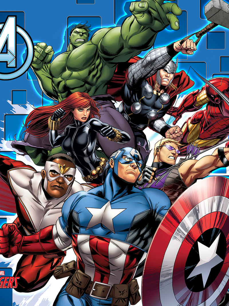 Marvel Avengers Filled Cusion with Cover 16x16 inches - e47