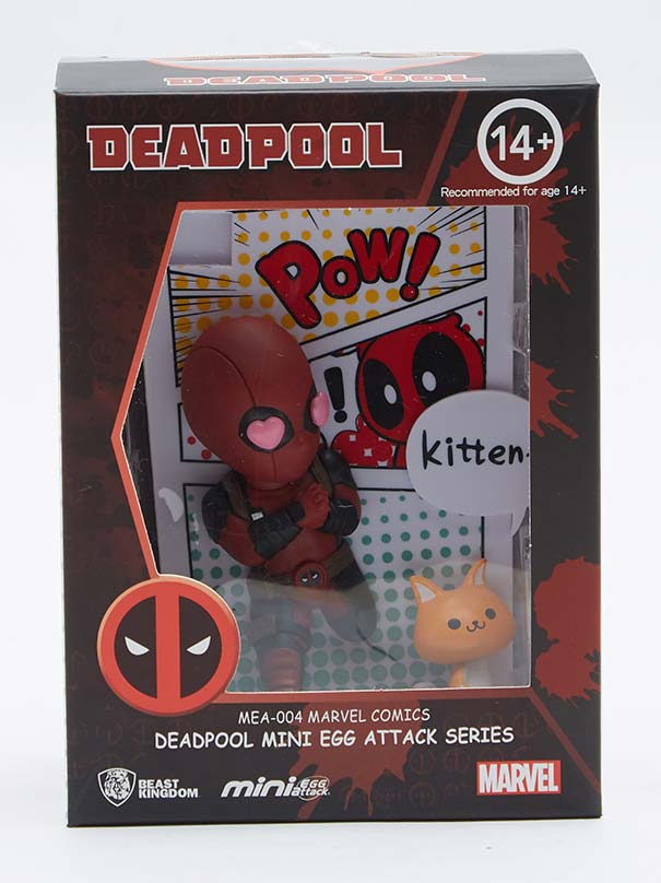 Marvel Comics: Deadpool Jump Out 4th Wall Mini Egg Attack