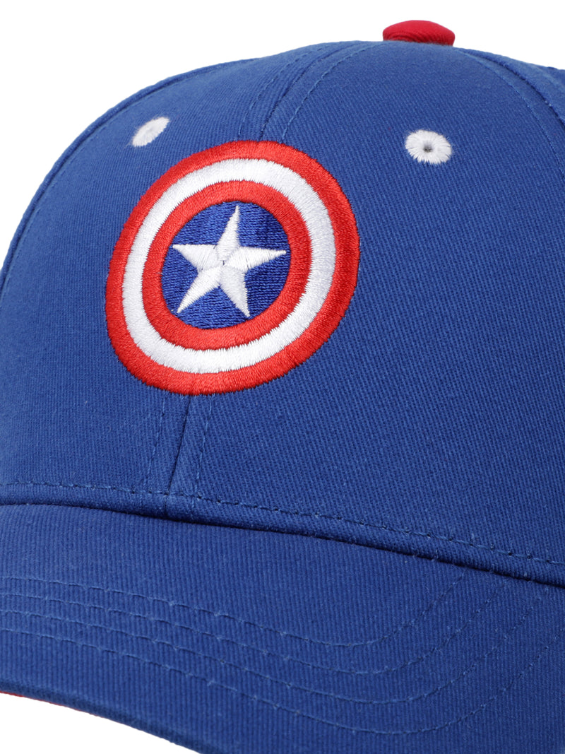 Captain America Blue Cap for kids - 2950