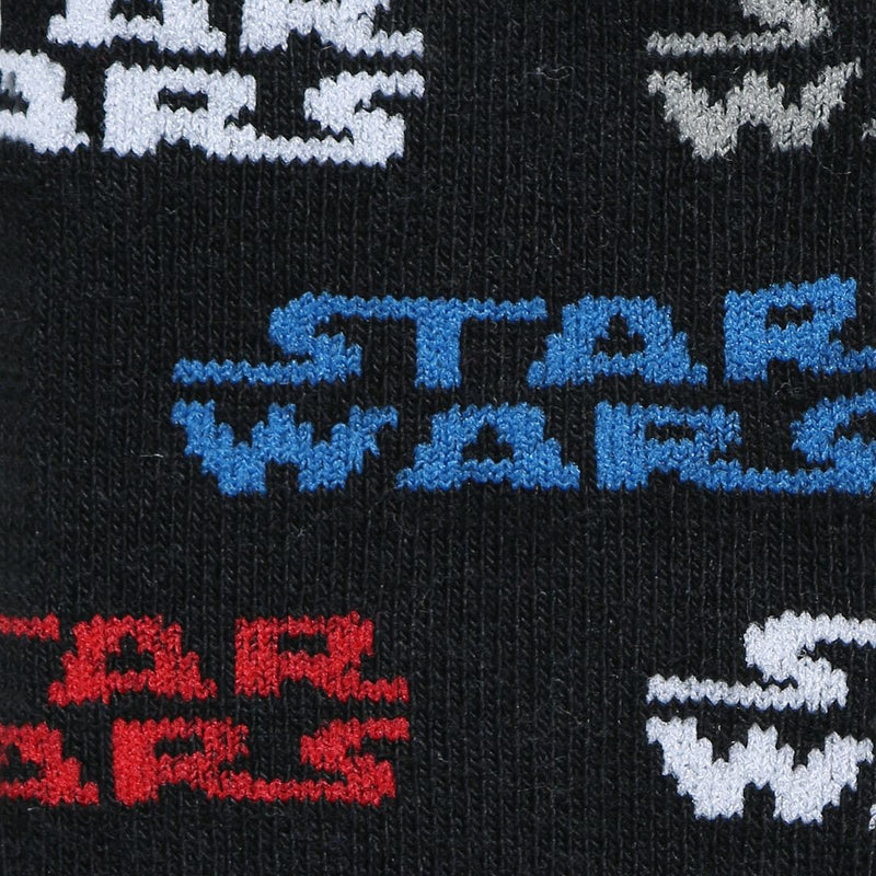 Disney Star Wars Ankle Length Blue Socks Pack of 5