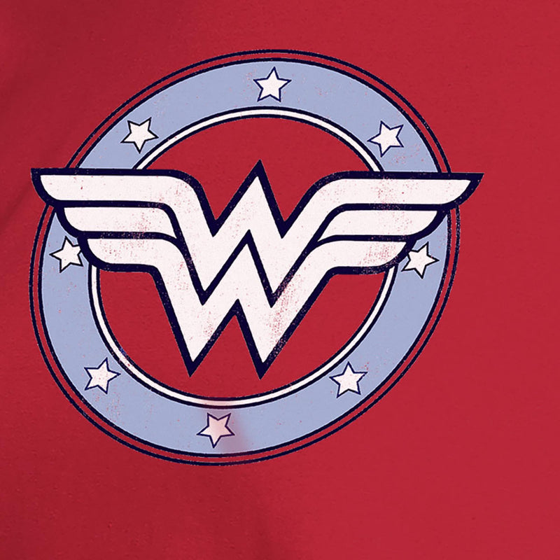 Wonder Woman printed Red Tshirt - 3731