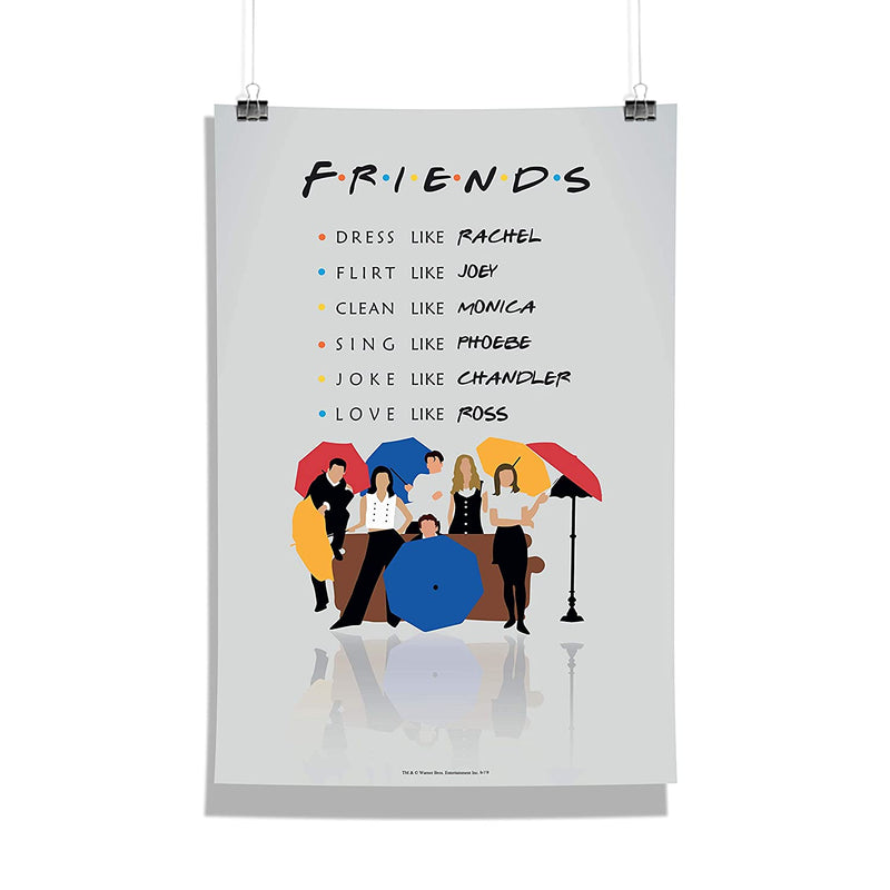 Friends Umbrella Poster
