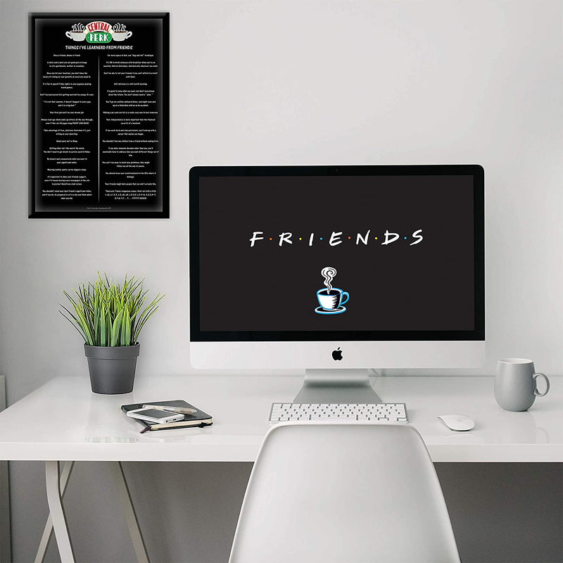 Friends Things I've Learned Poster