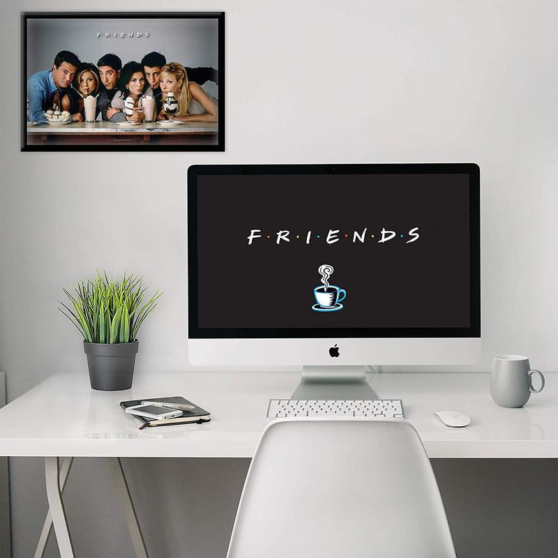 Friends Straw Poster