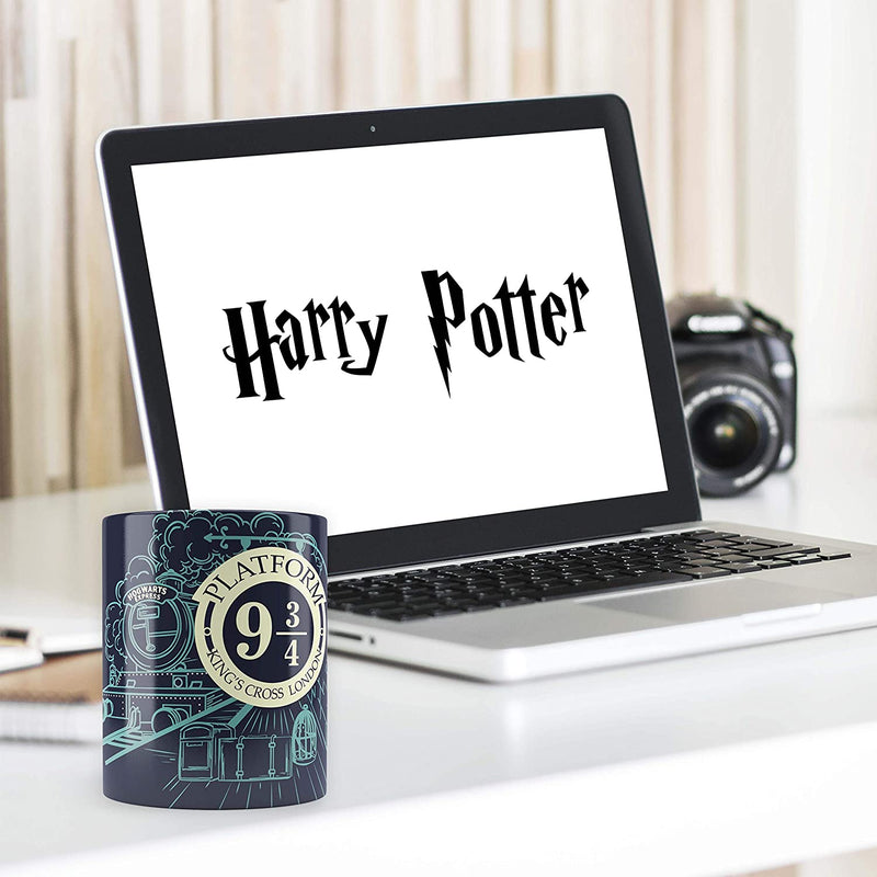 Harry Potter 93/4 Station Multicolor Morphing Magic Mug