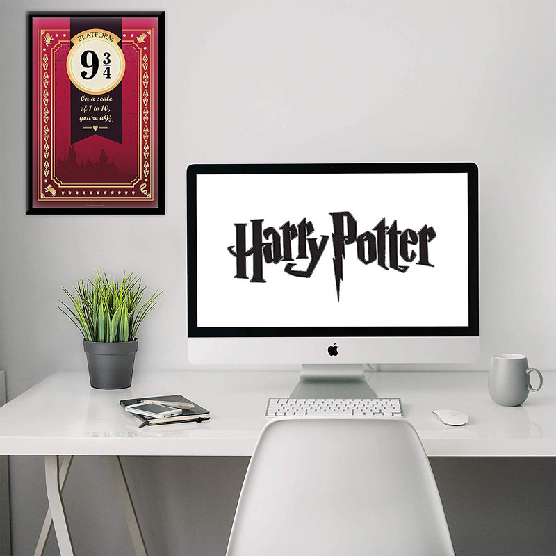 Harry Potter Poster House Crest - Set of 4