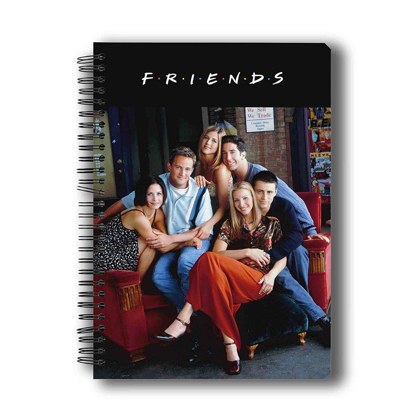 Friends On the Couch Notebook