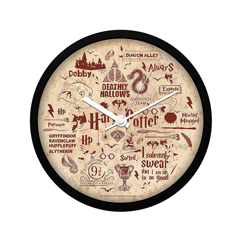 Harry Potter Red Wall Clock