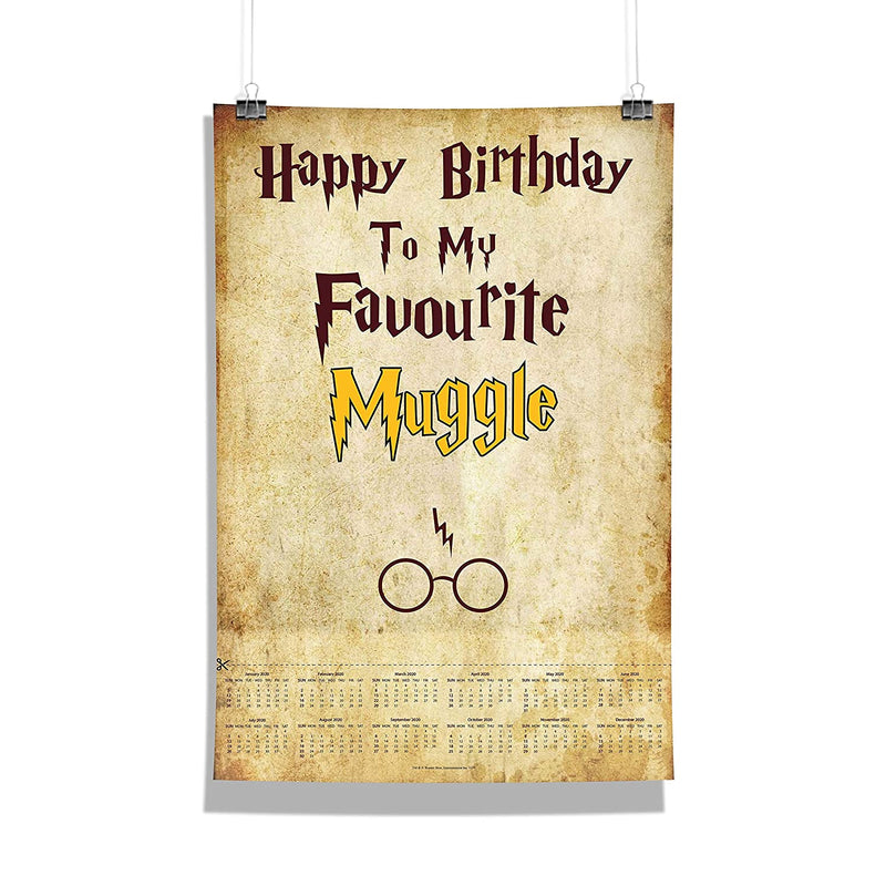 Harry Potter Favourite Muggle Poster