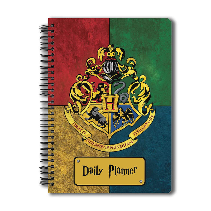 Harry Potter House Crest Daily Planner