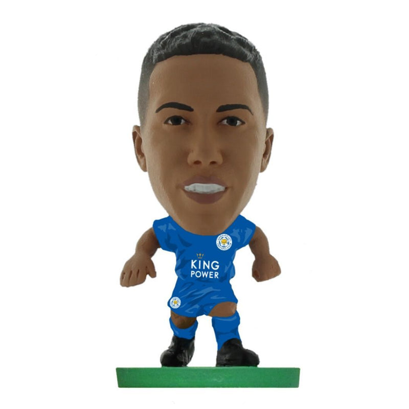 Youri Tielemans - Leicester - Home Kit (Classic Version) Figure by Soccer Starz