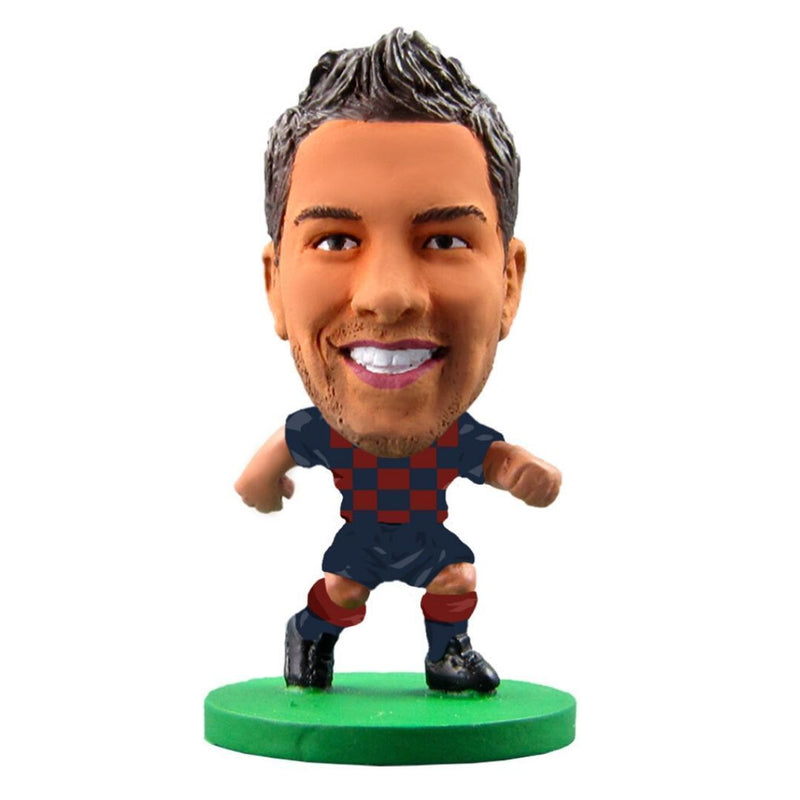 Jordi Alba - Barcelona - Home Kit (2020 Version) Figure by Soccer Starz