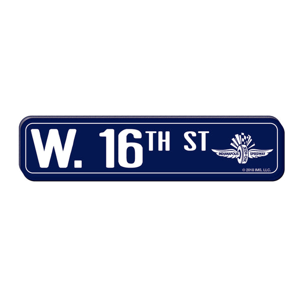 West 16th Street HD Magnet