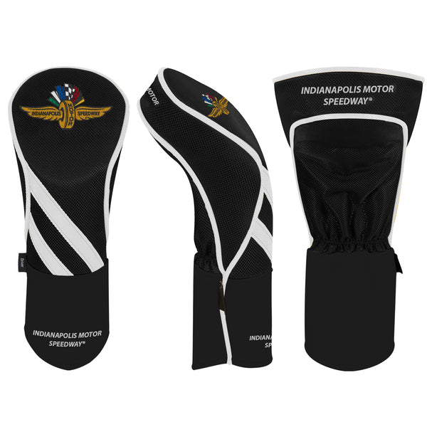 Wing Wheel and Flag Driver Golf Head Cover