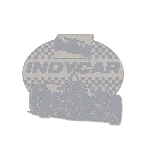 INDYCAR Series Silver Car Lapel Pin
