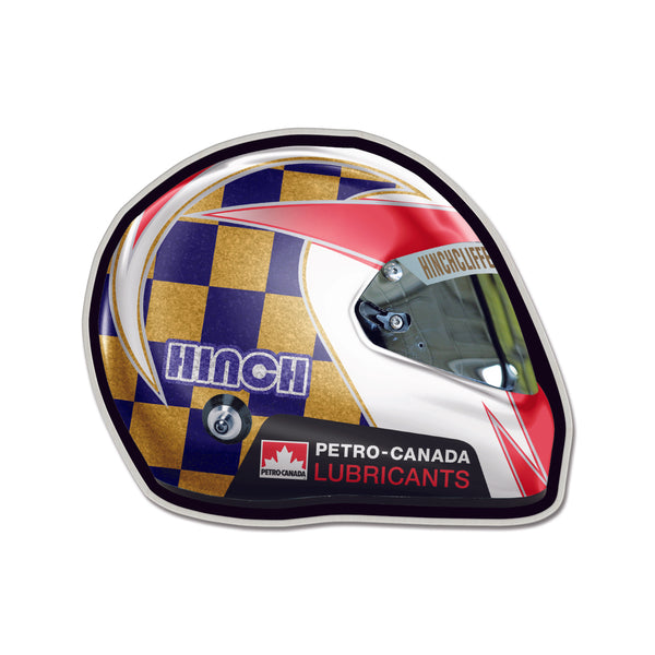 James Hinchcliffe Driver Helmet Lapel Pin
