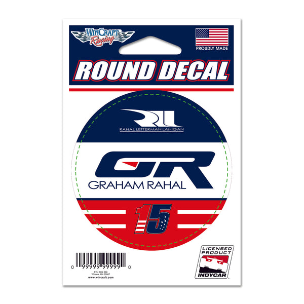 Graham Rahal Driver Decal