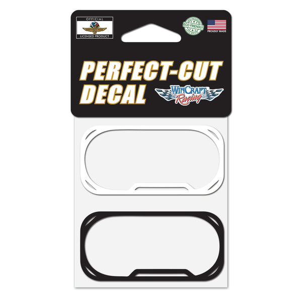 Indianapolis Motor Speedway Track Outline 2pk Decal