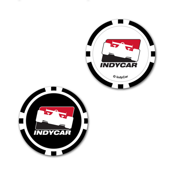 INDYCAR 2-Sided Poker Chip Ball Marker
