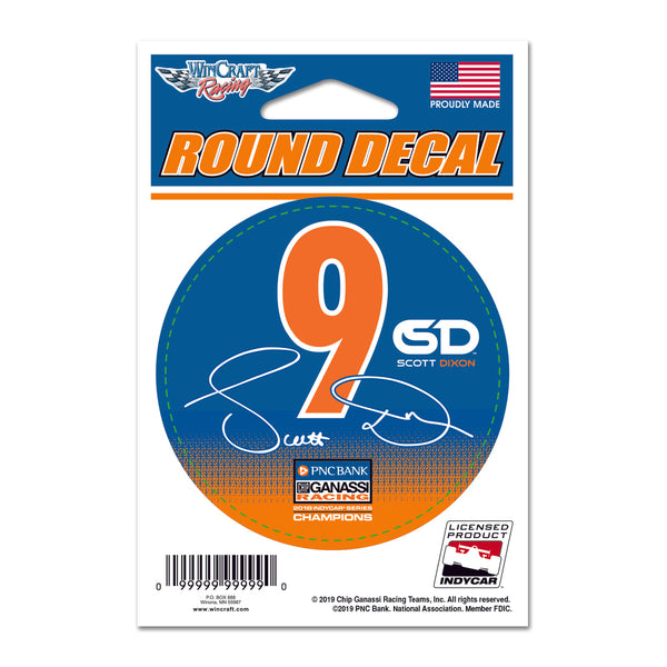 Scott Dixon Driver Decal