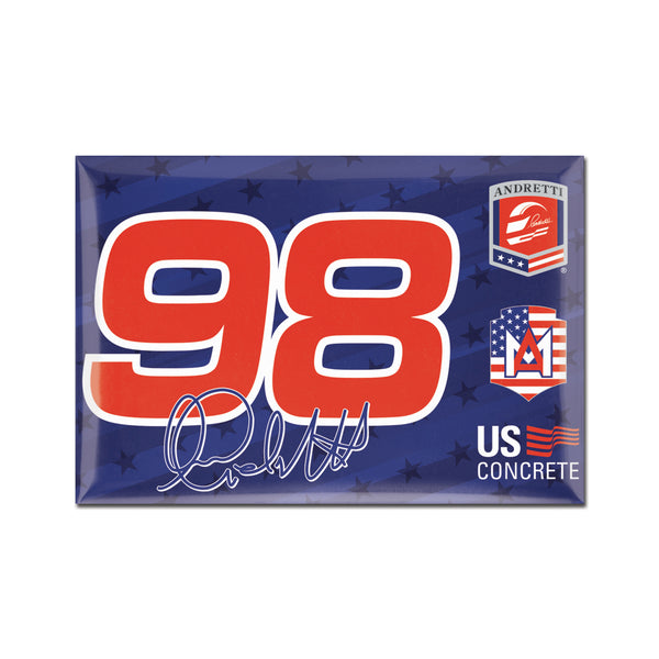 "Marco Andretti ""98"" Driver Magnet"