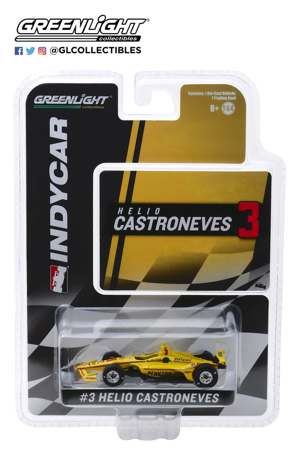 2019 Helio Castroneves PENNZOIL 1:64 Diecast