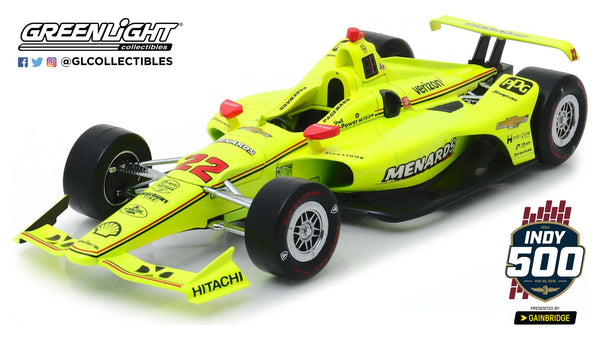 2019 Indy 500 Simon Pagenaud 1:18 Winner Diecast