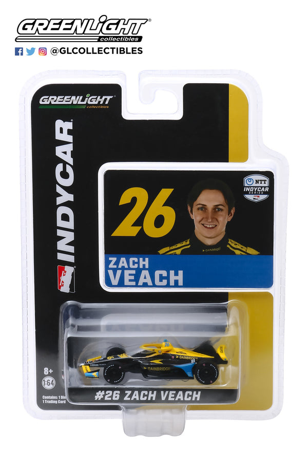 2020 Zach Veach GAINBRIDGE 1:64 Diecast